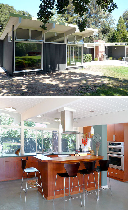butterfly double John Klopf: Respectfully Renovating Eichler Homes