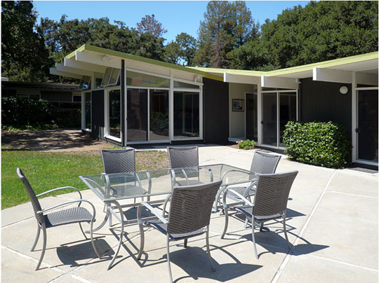 butterfly rear patio John Klopf: Respectfully Renovating Eichler Homes