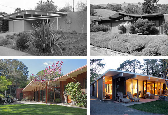 front rear bw1 John Klopf: Respectfully Renovating Eichler Homes