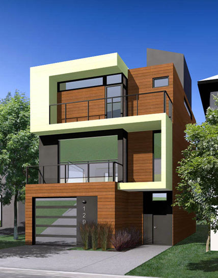 New row house design joy studio design gallery best design for Best row house design