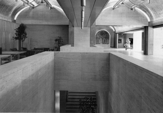 kimbell vaults Chris Downey on Architecture for the Blind