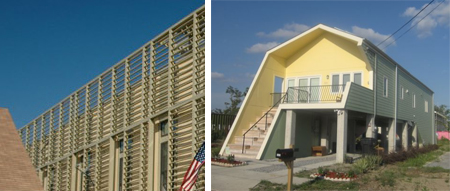 slatted screen and slanted porch New Orleans Post Katrina: Making It Right?